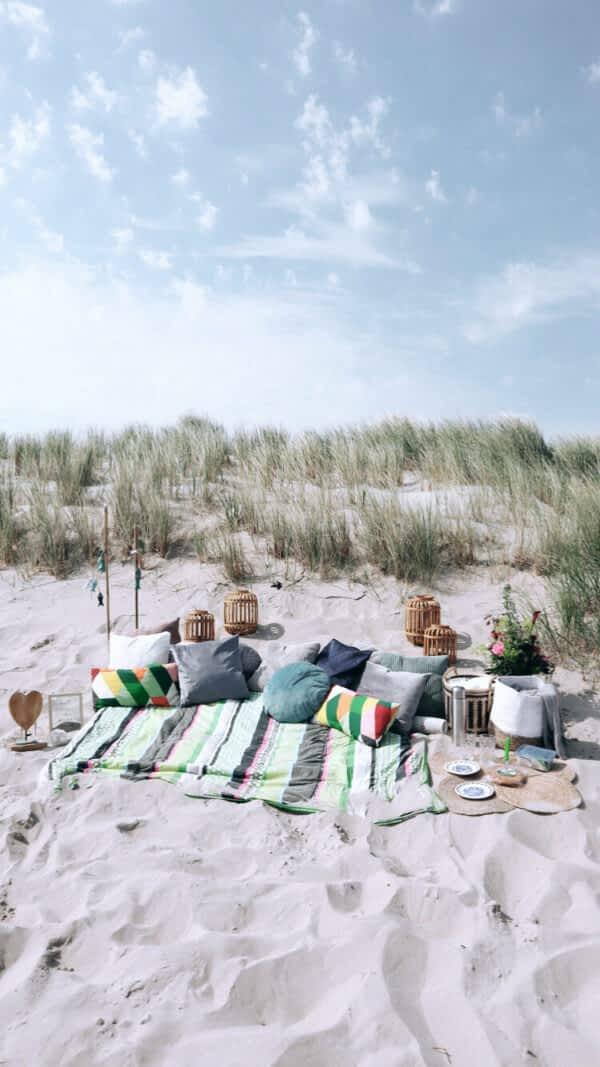 Picknicken op Texel